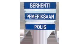 Road Block Signage